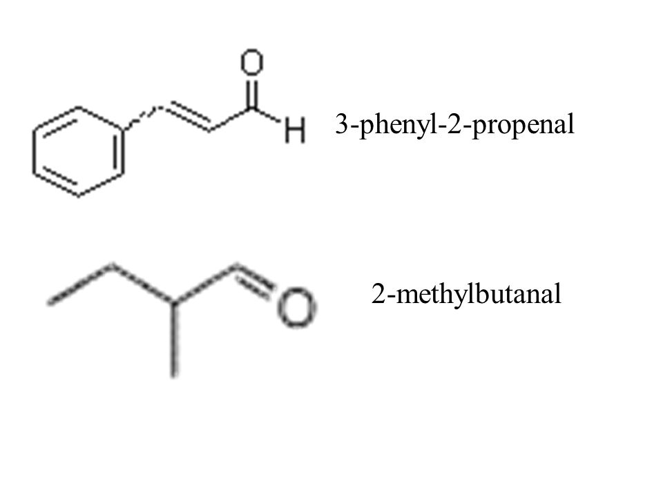 3-phenyl-2-propenal 2-methylbutanal