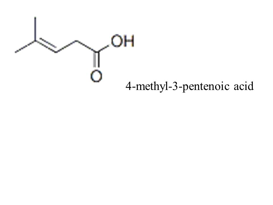 4-methyl-3-pentenoic acid