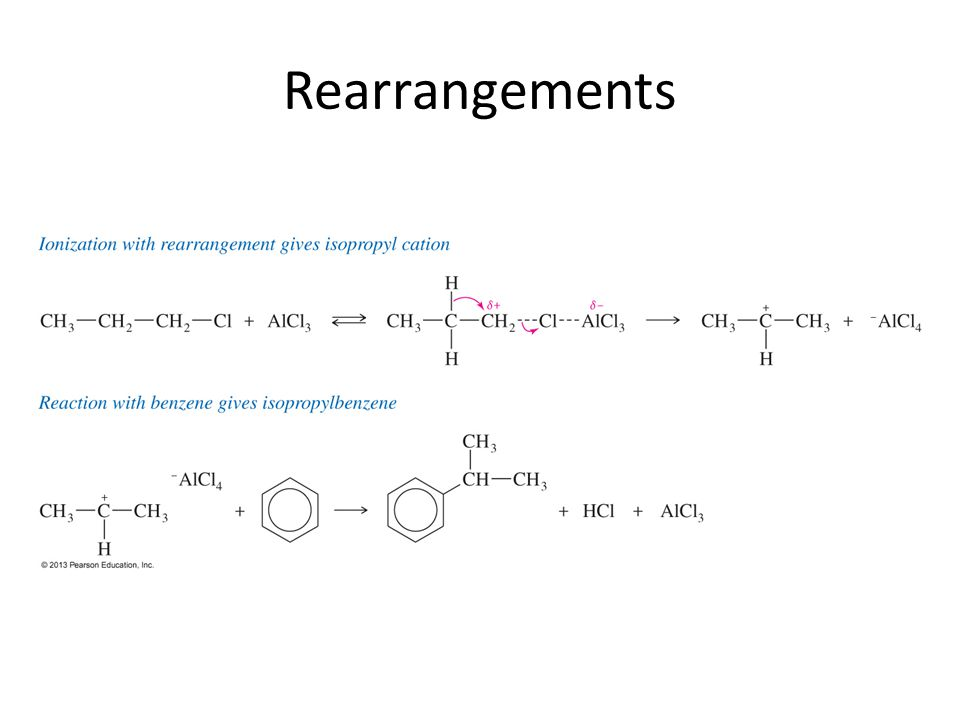 Rearrangements