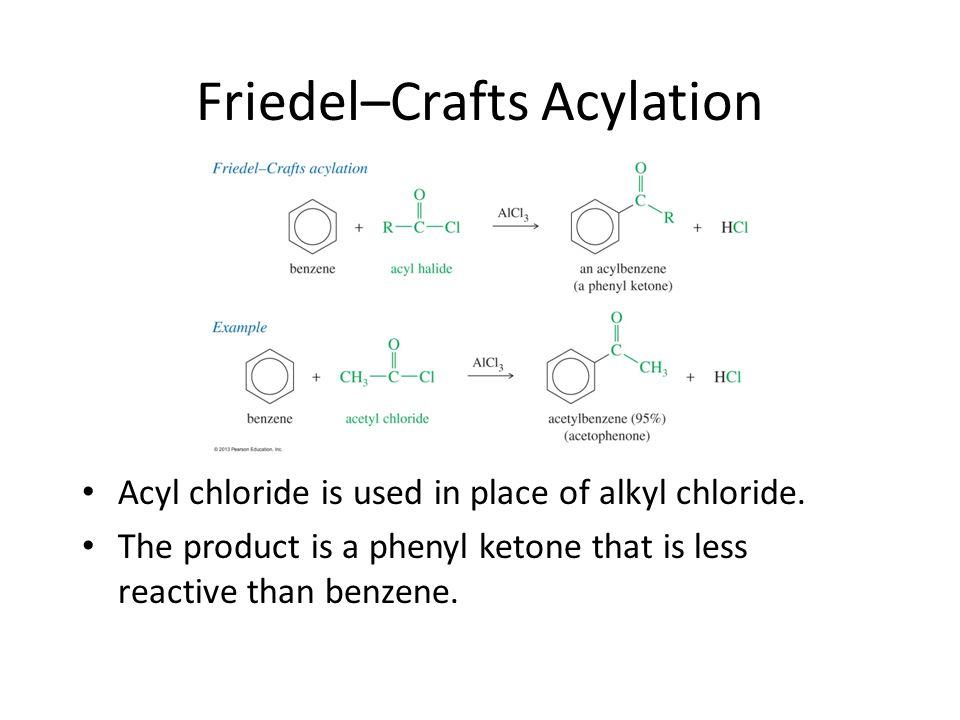 Friedel–Crafts Acylation