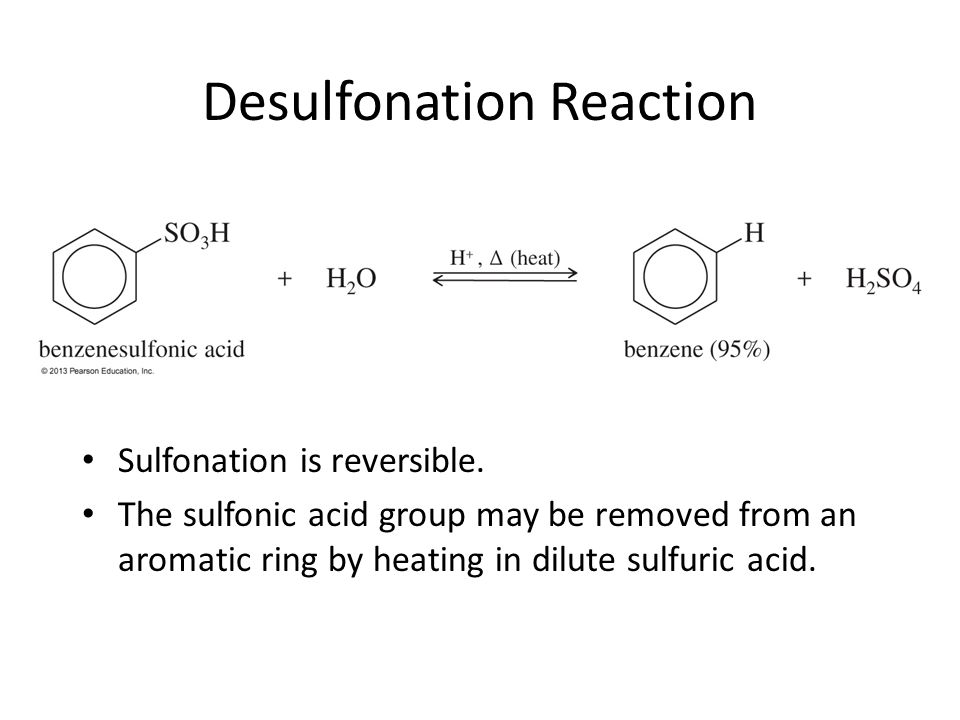 Desulfonation Reaction