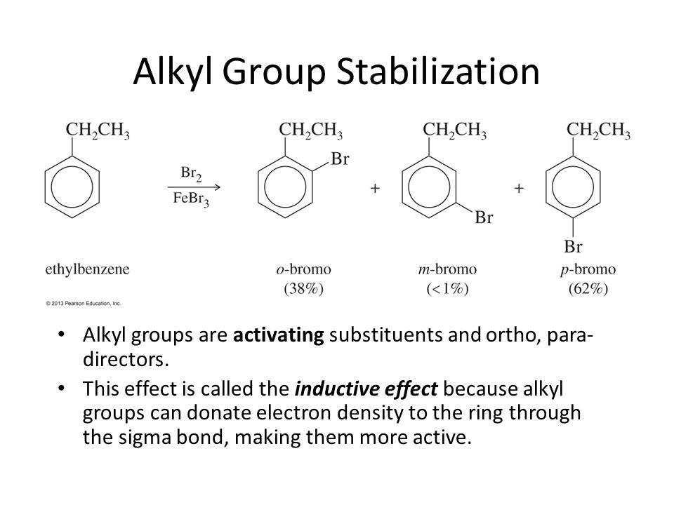 Alkyl Group Stabilization