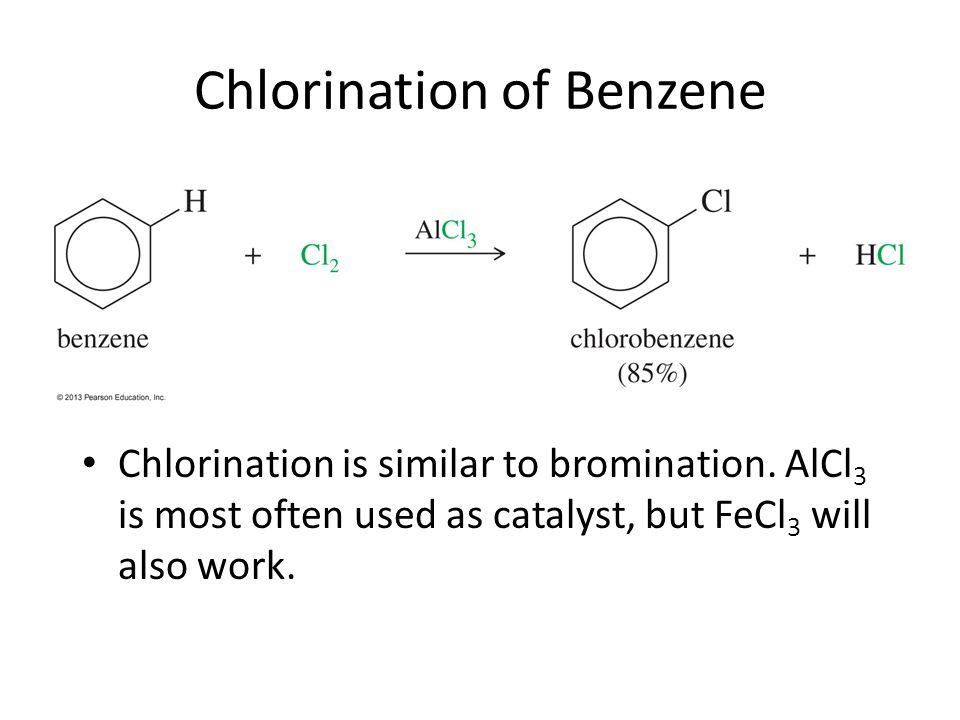 Chlorination of Benzene