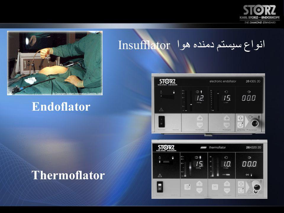 انواع سیستم دمنده هوا Insufflator