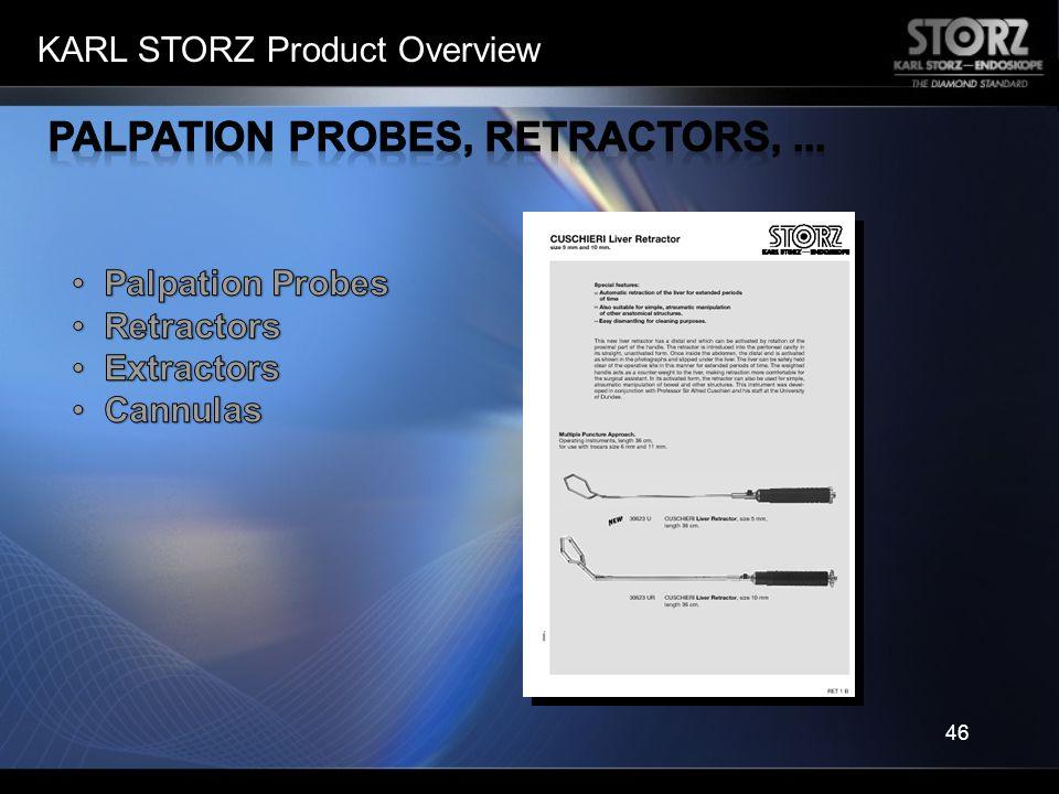 Palpation Probes, Retractors, ...