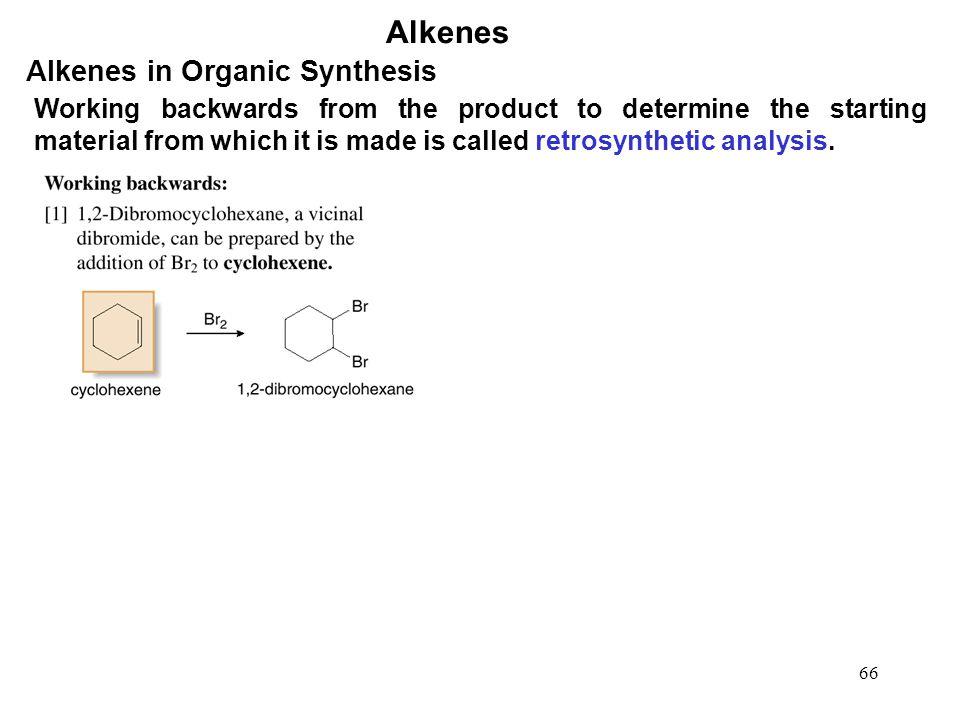 Alkenes Alkenes in Organic Synthesis