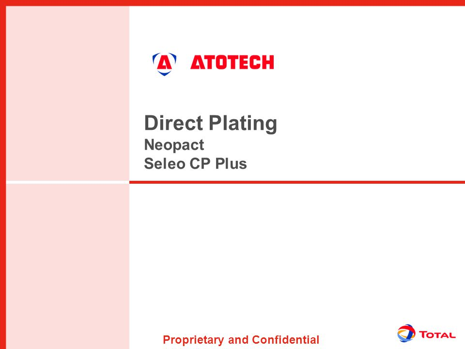 Direct Plating Neopact Seleo CP Plus