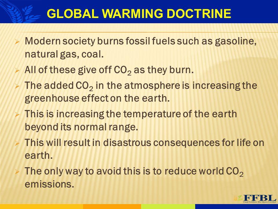 GLOBAL WARMING DOCTRINE