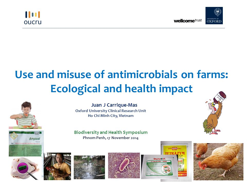Use and misuse of antimicrobials on farms: Ecological and health impact