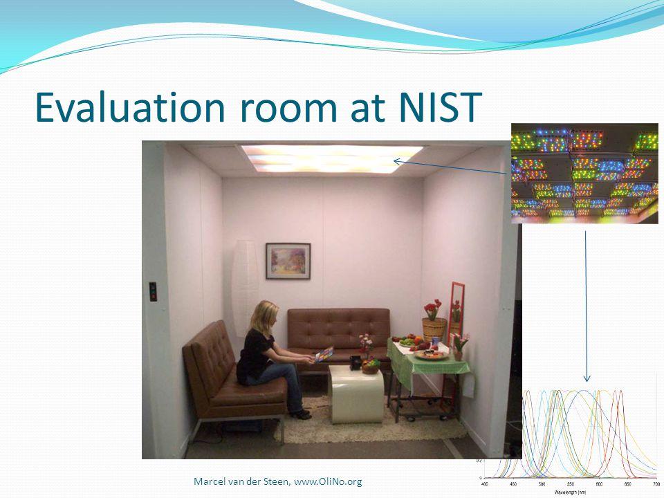 Evaluation room at NIST