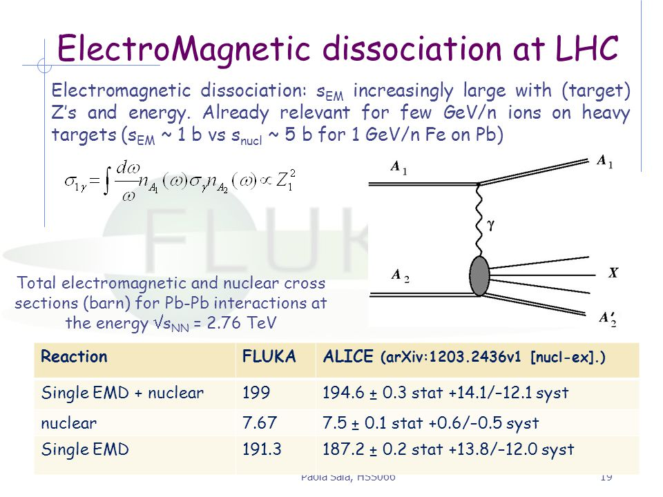 ElectroMagnetic dissociation at LHC