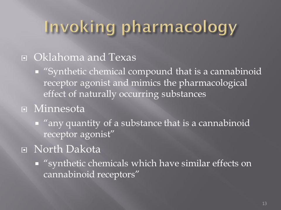 Invoking pharmacology