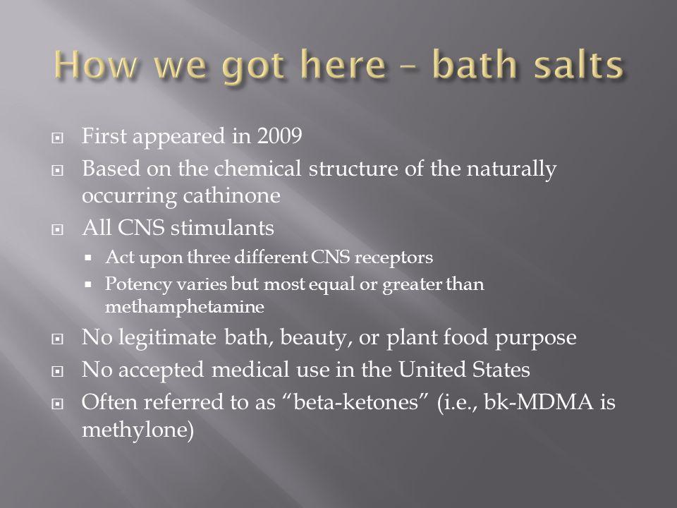 How we got here – bath salts