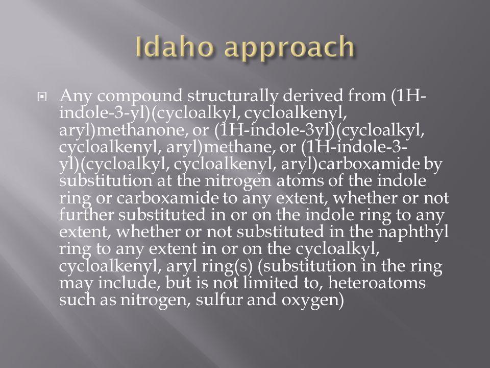 Idaho approach