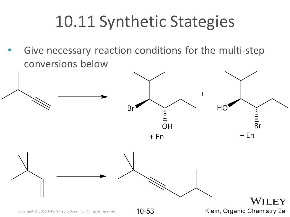 10.11 Synthetic Stategies Give necessary reaction conditions for the multi-step conversions below.