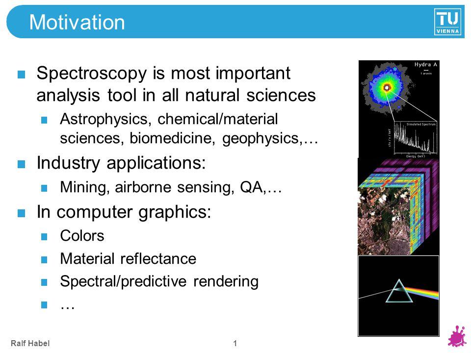 Spectral Imaging Records image at narrow wavelength bands