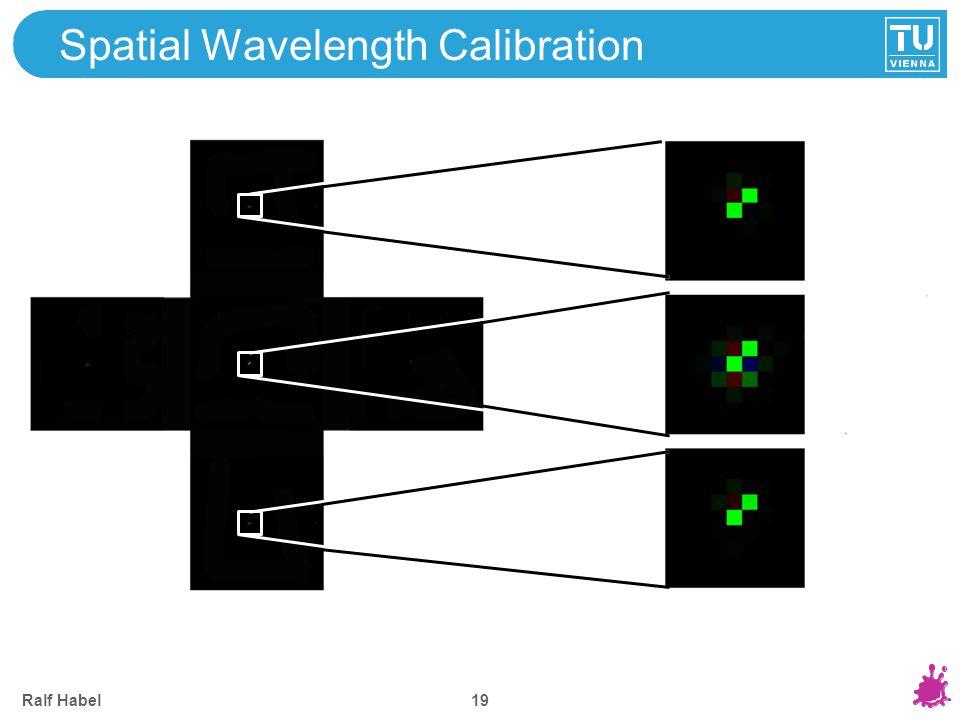 Spectral Response Calibration