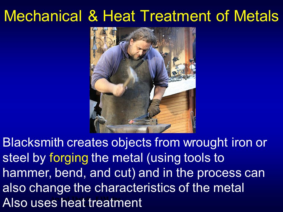 Mechanical & Heat Treatment of Metals