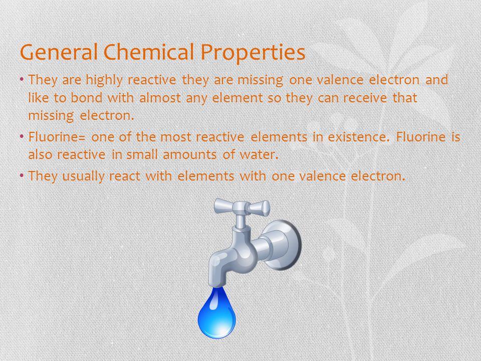 General Chemical Properties