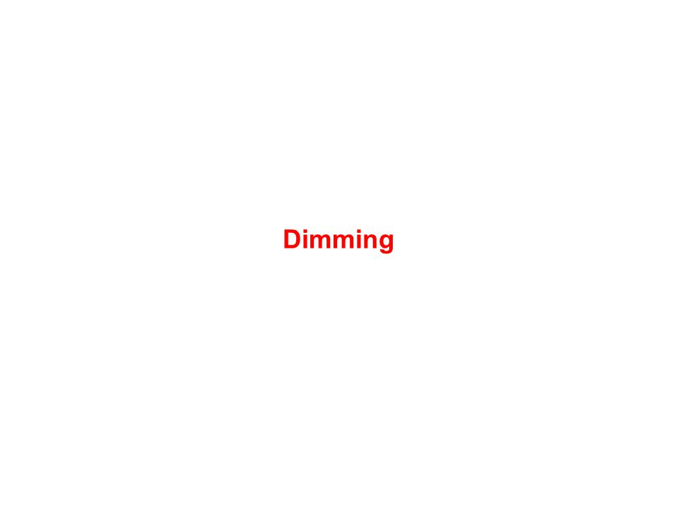 Dimming