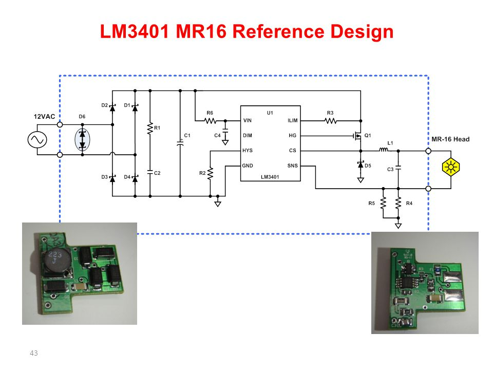 LM3401 MR16 Reference Design