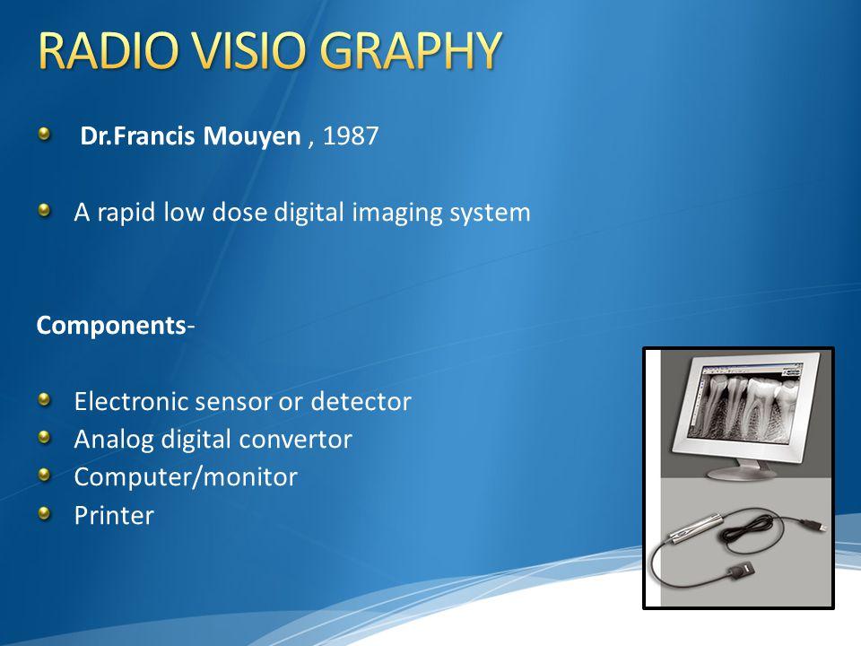 RADIO VISIO GRAPHY Dr.Francis Mouyen , 1987