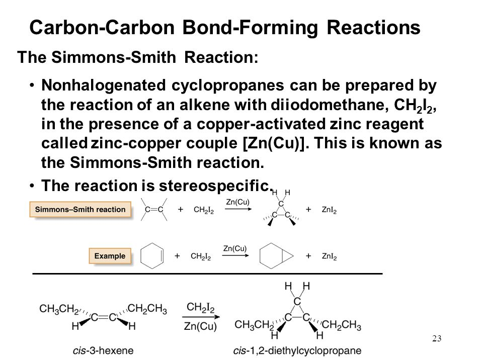 Carbon-Carbon Bond-Forming Reactions