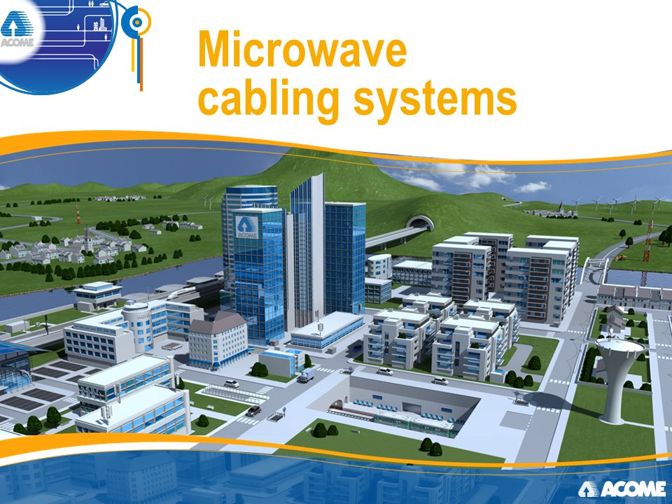 Microwave cabling systems