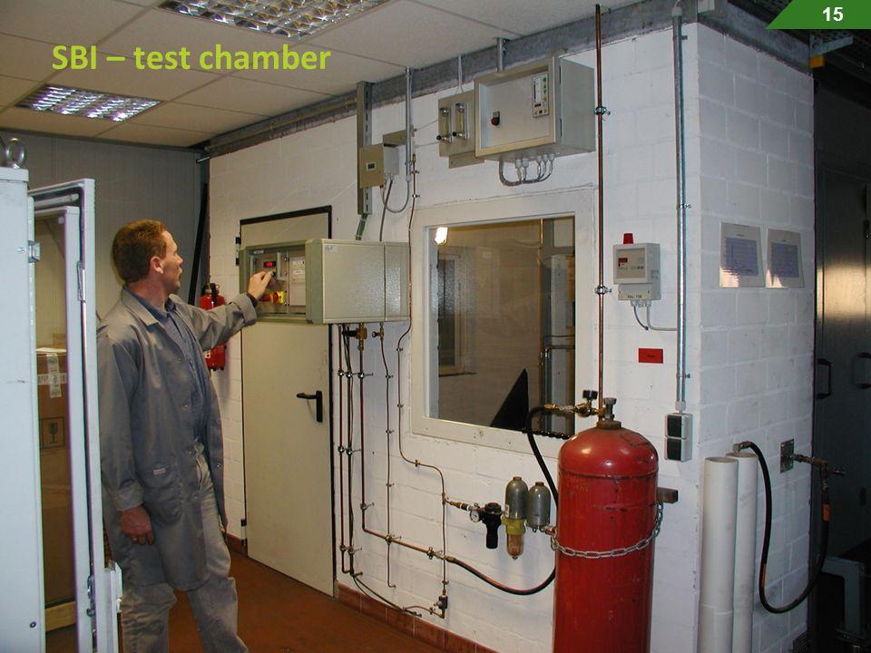 15 SBI – test chamber.