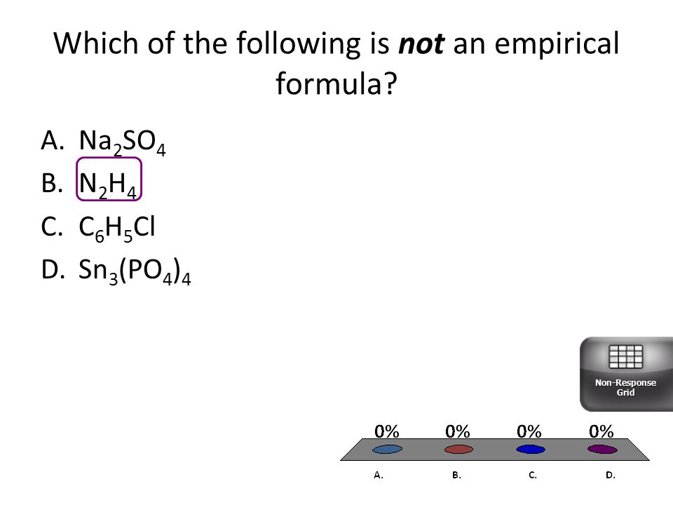 Which of the following is not an empirical formula