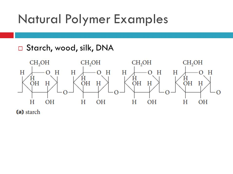 Natural Polymer Examples
