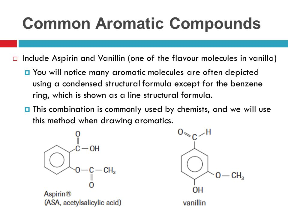 Common Aromatic Compounds