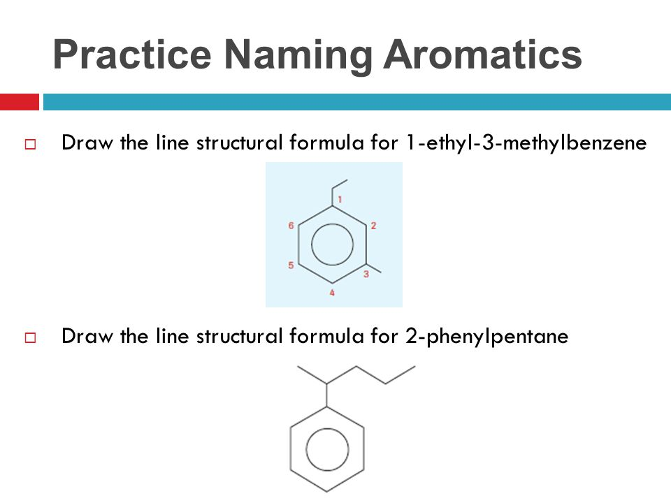 Practice Naming Aromatics