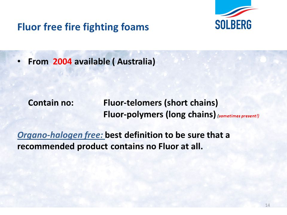 Fluor free fire fighting foams