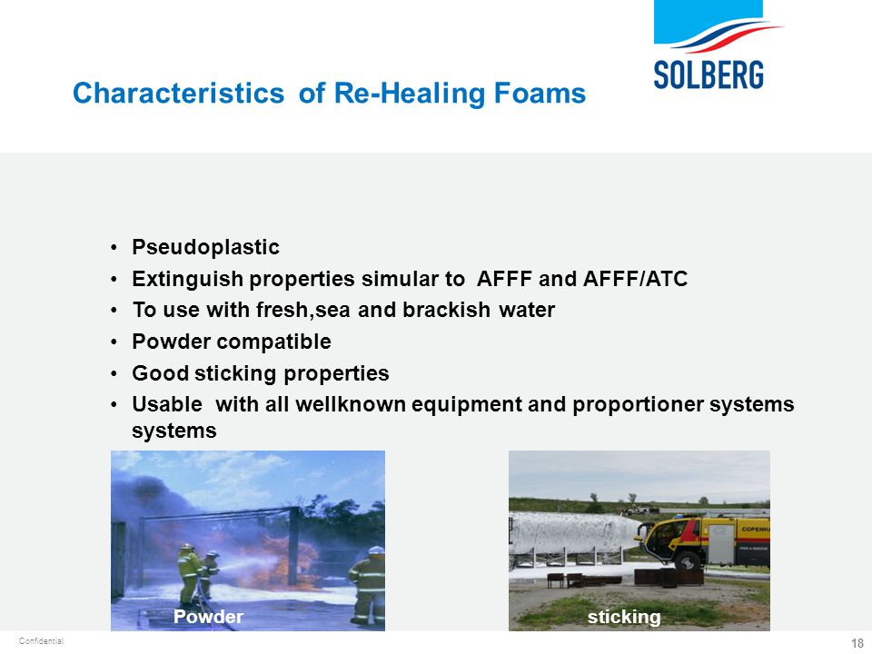 Characteristics of Re-Healing Foams