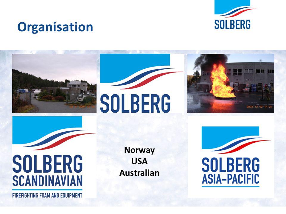 Organisation Norway USA Australian