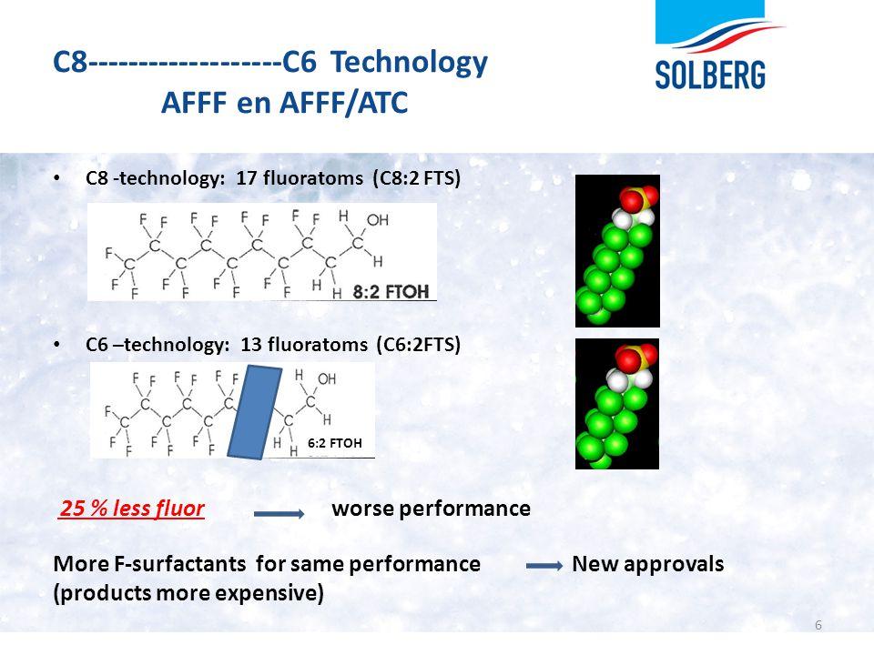 C8-------------------C6 Technology AFFF en AFFF/ATC