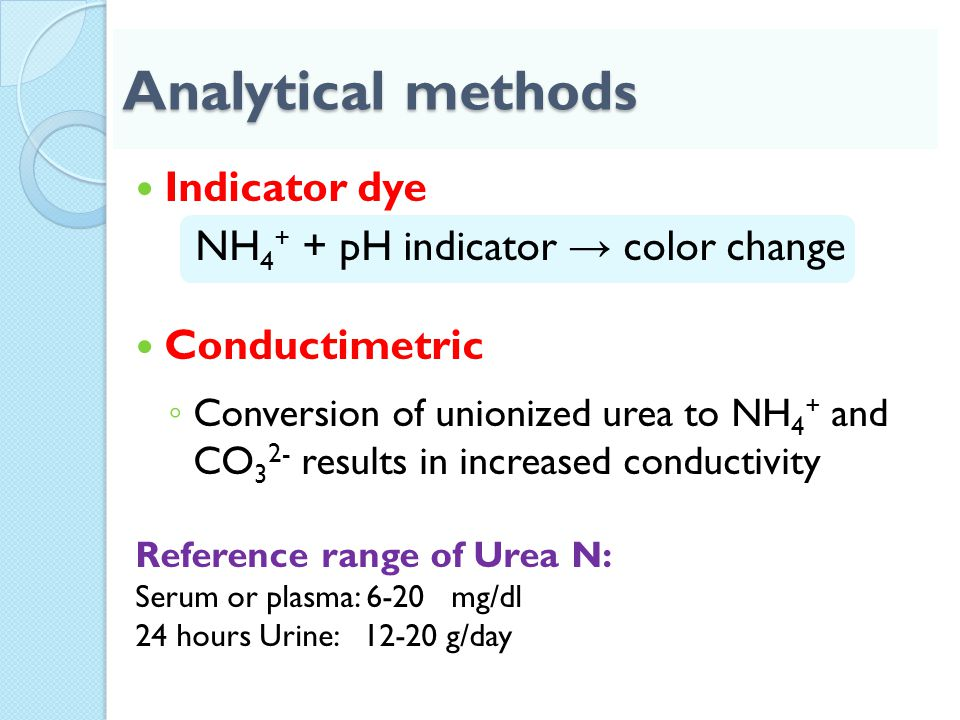 NH4+ + pH indicator → color change