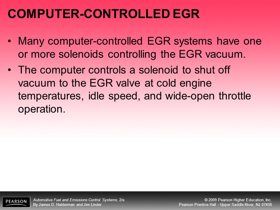 COMPUTER-CONTROLLED EGR