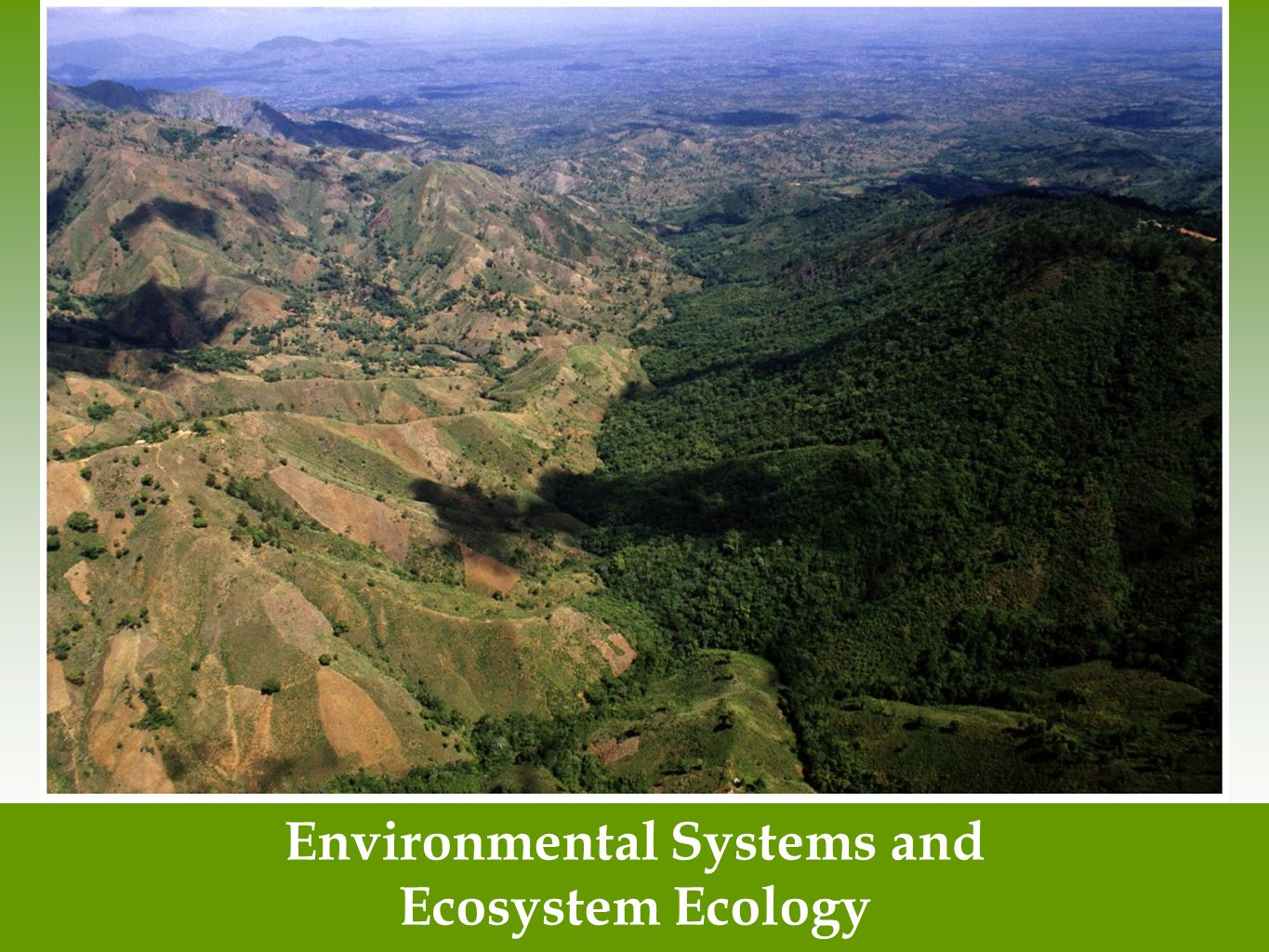 Environmental Systems and
