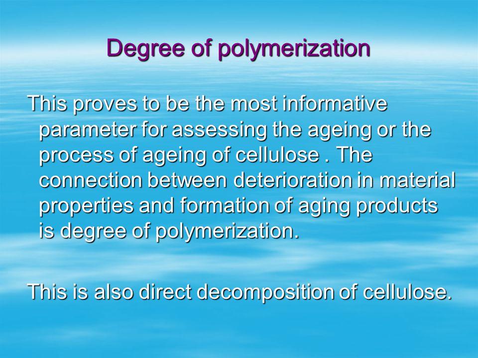 Degree of polymerization