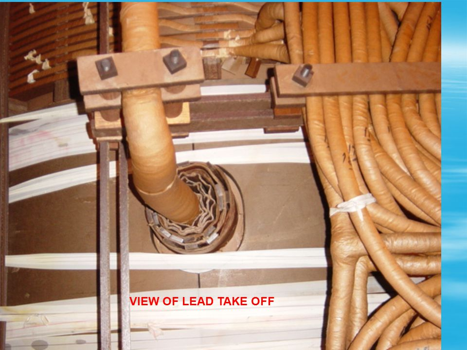 VIEW OF LEAD TAKE OFF