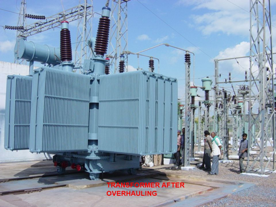 TRANSFORMER AFTER OVERHAULING