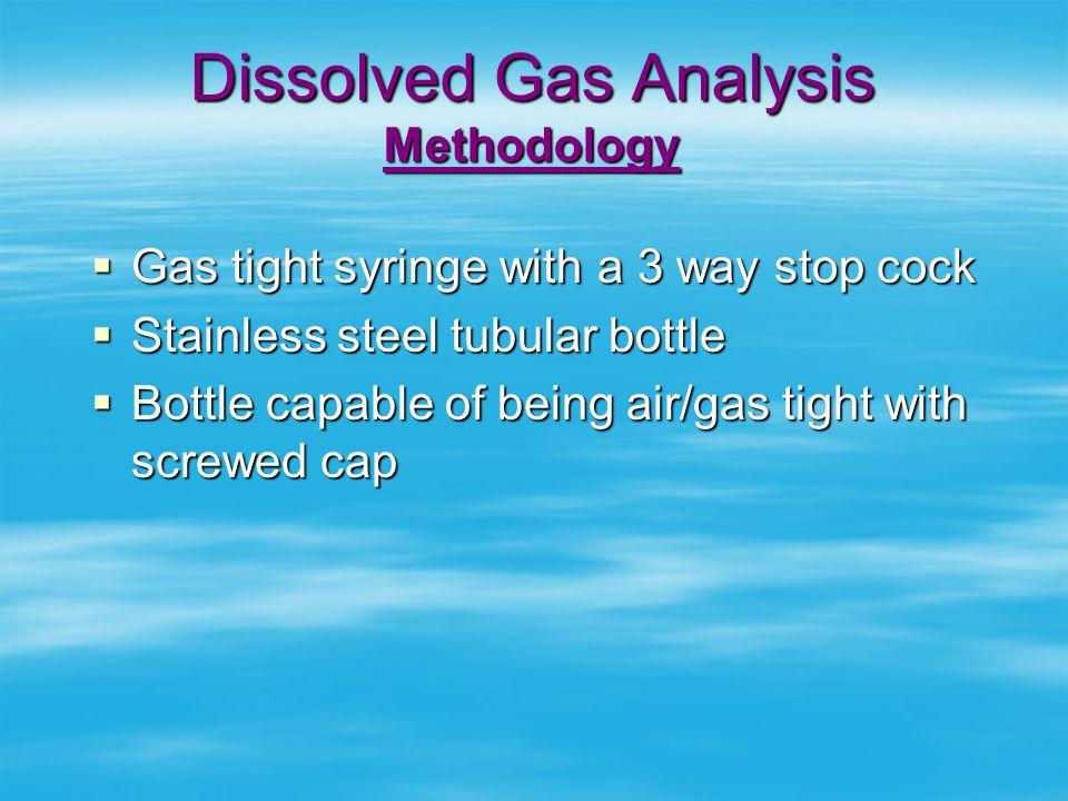 Dissolved Gas Analysis Methodology