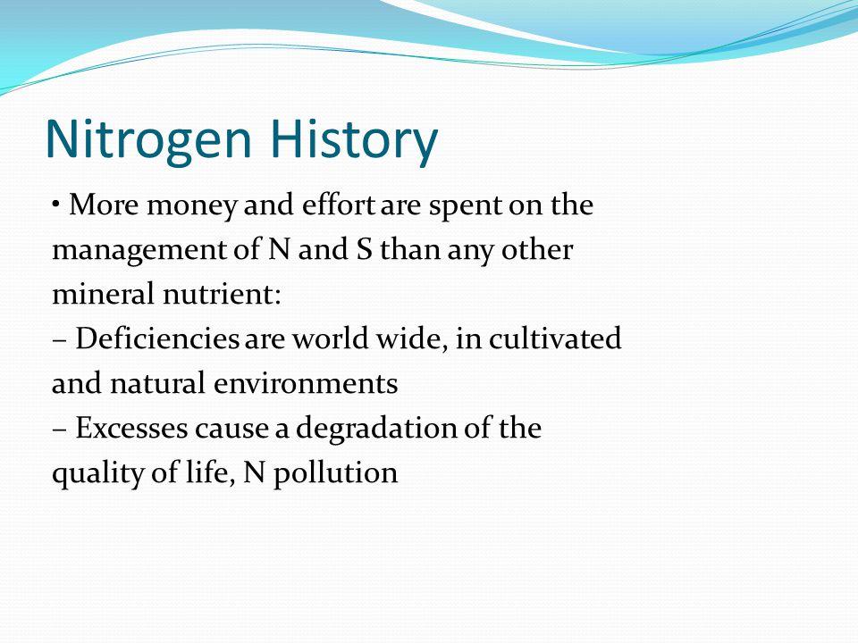 Nitrogen History