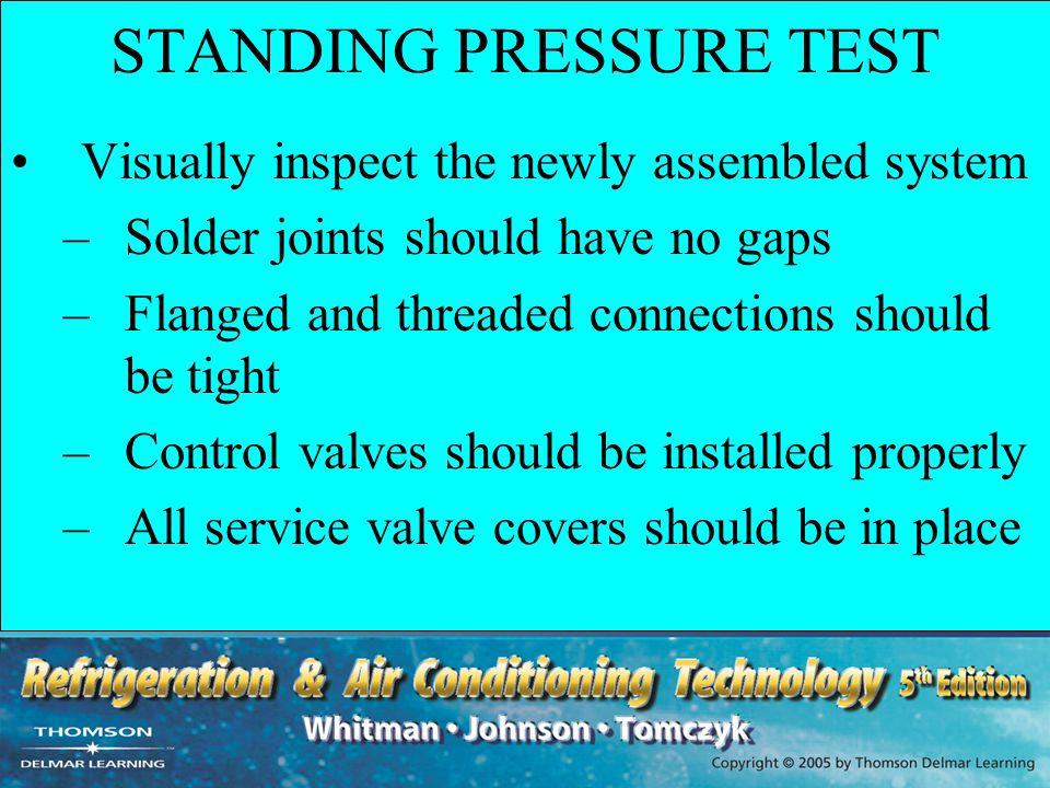 STANDING PRESSURE TEST