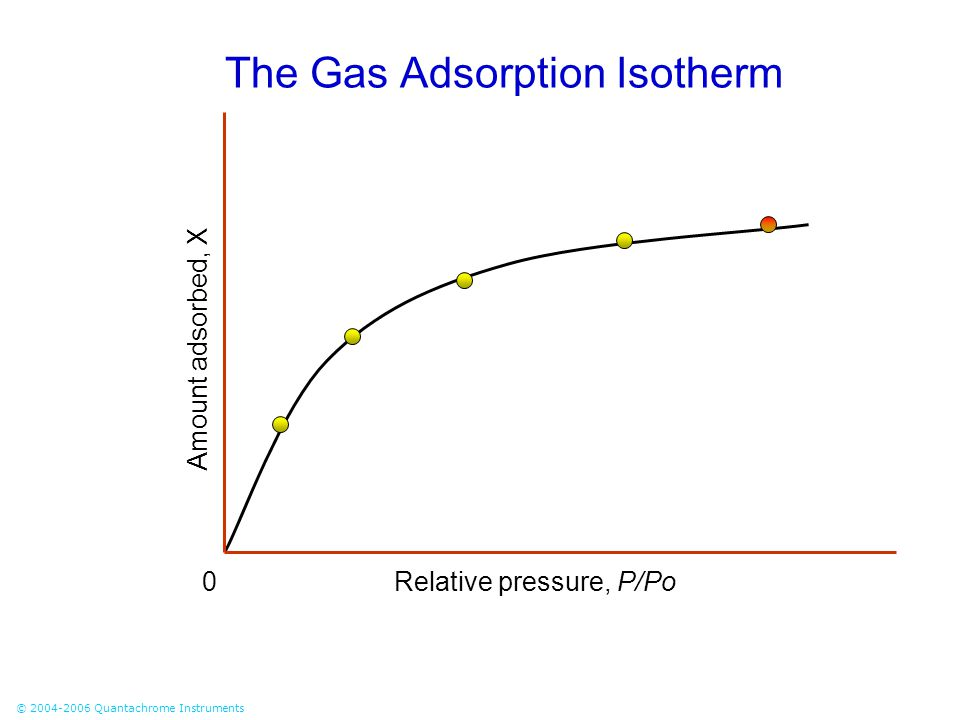 The Gas Adsorption Isotherm