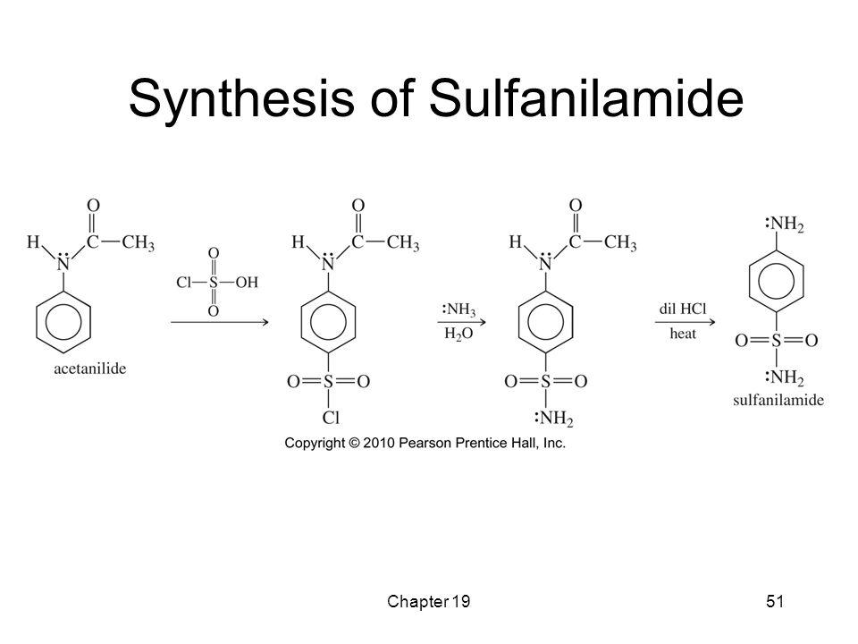 Synthesis of Sulfanilamide