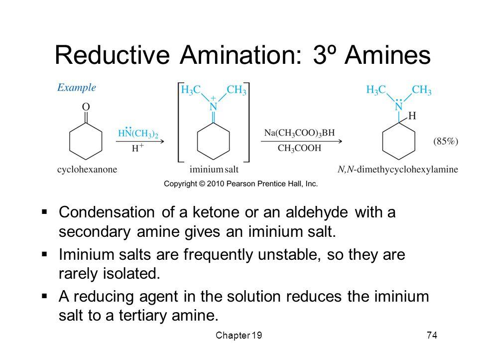 Reductive Amination: 3º Amines