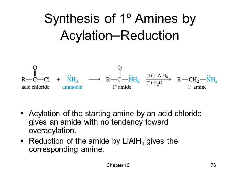 Synthesis of 1º Amines by Acylation–Reduction